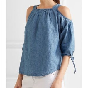 MADEWELL Off The Shoulder Light Weight Blouse